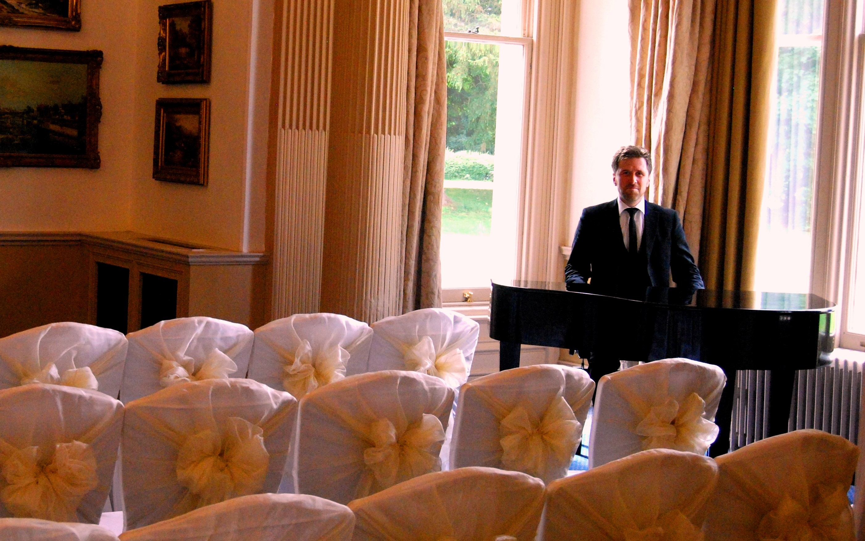 Downhall pianist wedding