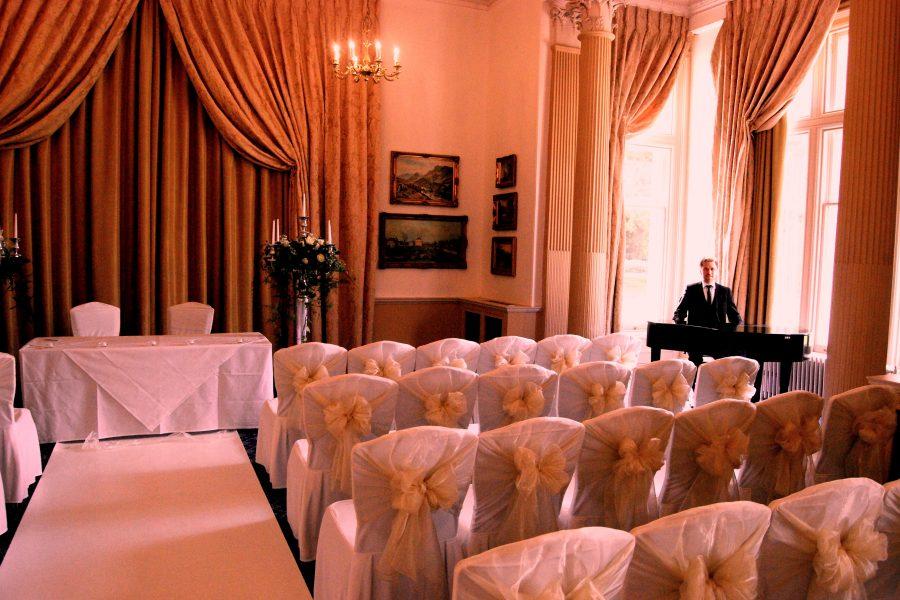 Downhall wedding pianist