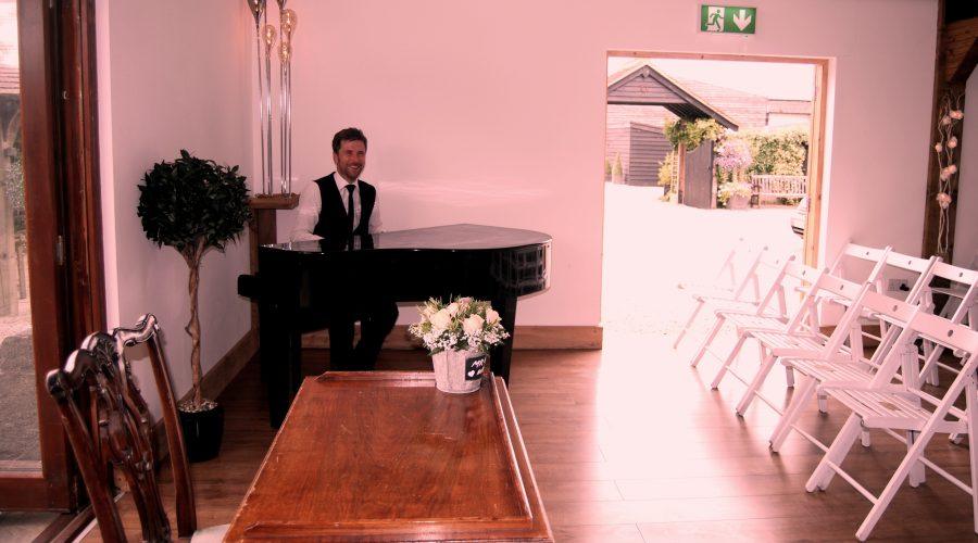 Maidens Barn Pianist Wedding