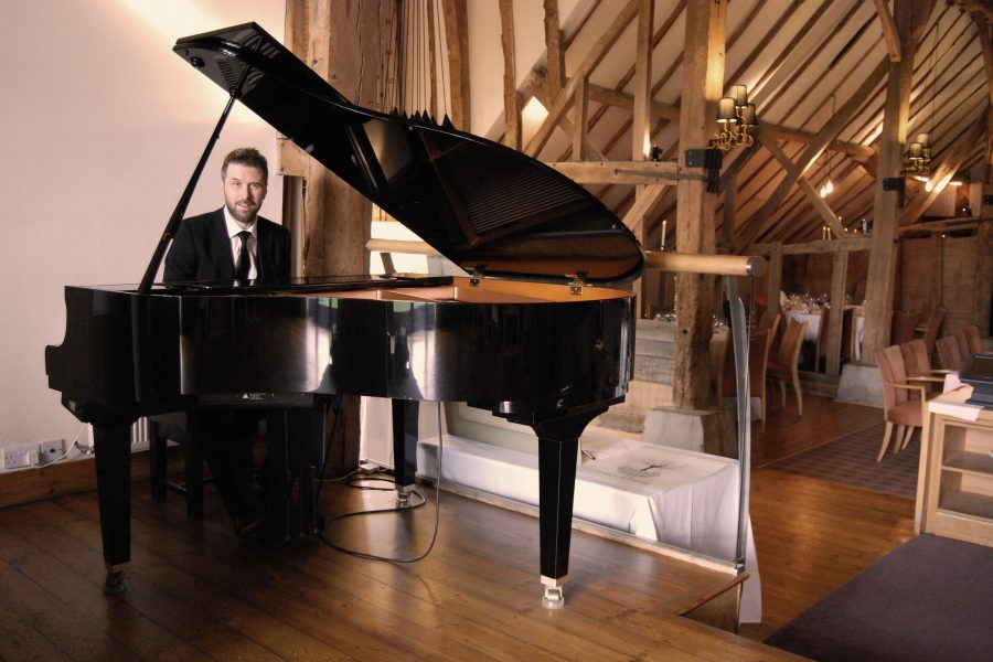 Wedding Pianist Essex Phillip Keith The Barn Brasserie