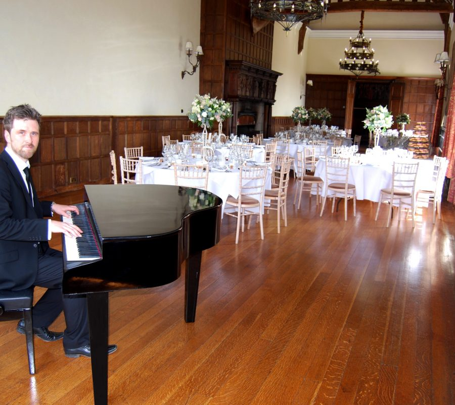 Wedding Pianist Layer Marney Tower Phillip Keith.
